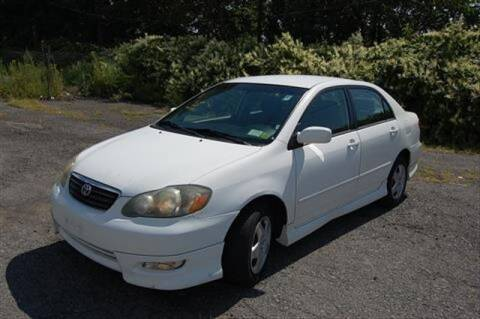2005 Toyota Corolla for sale at CASTLE AUTO AUCTION INC. in Scranton PA