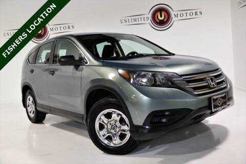 2012 Honda CR-V for sale at Unlimited Motors in Fishers IN