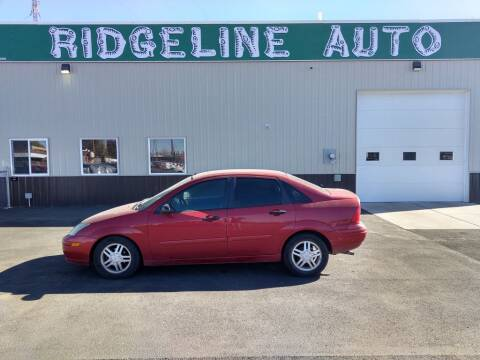 2003 Ford Focus for sale at RIDGELINE AUTO in Chubbuck ID