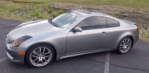 2007 Infiniti G35 for sale at G T Auto Group in Goodlettsville TN