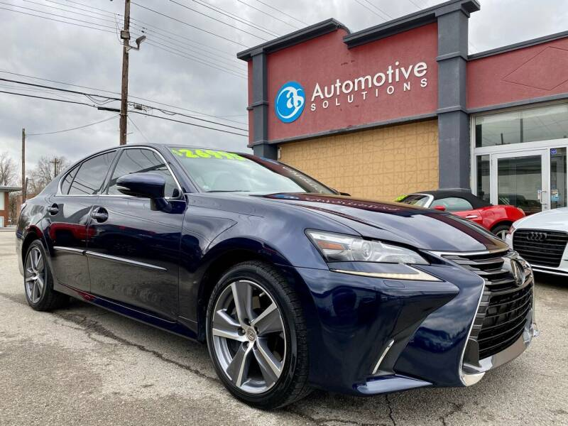 2017 Lexus GS 350 for sale at Automotive Solutions in Louisville KY