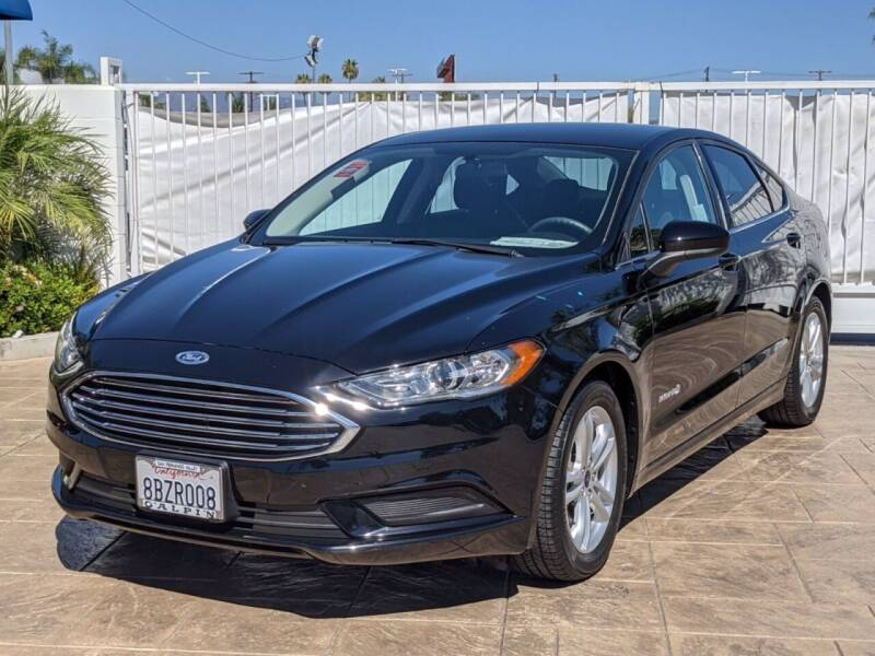 2018 Ford Fusion Hybrid for sale in Van Nuys, CA