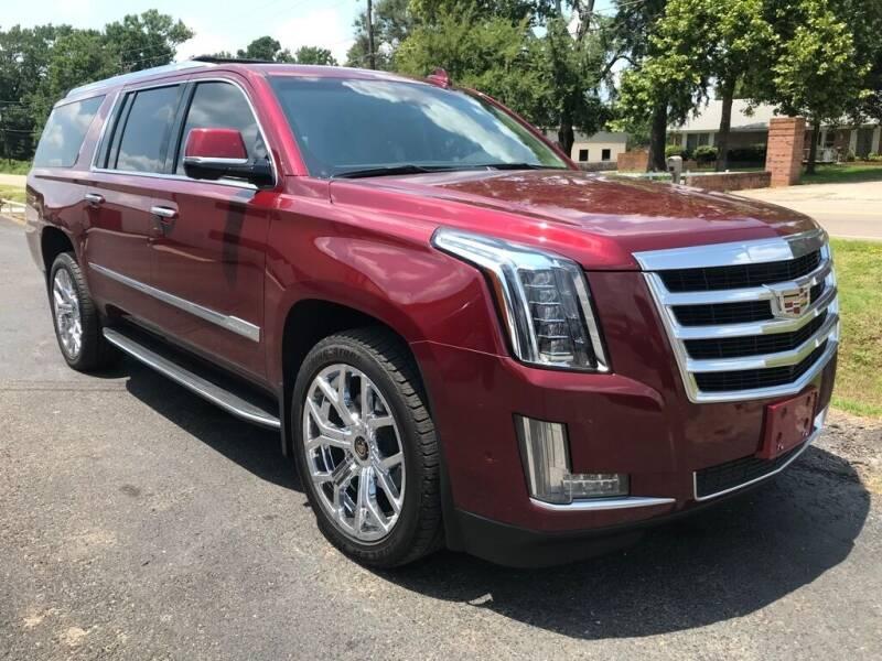 2017 Cadillac Escalade ESV for sale at Sandlot Autos in Tyler TX