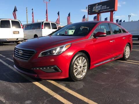2015 Hyundai Sonata for sale at LKG Auto Sales Inc in Miami FL
