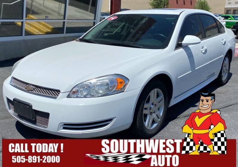 2014 Chevrolet Impala Limited for sale at SOUTHWEST AUTO in Albuquerque NM