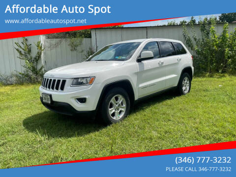 2014 Jeep Grand Cherokee for sale at Affordable Auto Spot in Houston TX