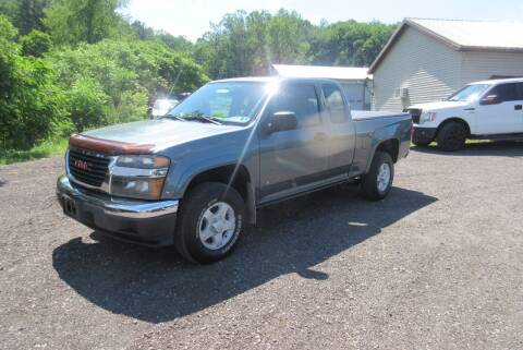 2006 GMC Canyon for sale at Clearwater Motor Car in Jamestown NY