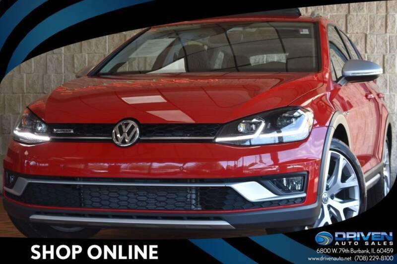 2018 Volkswagen Golf Alltrack for sale in Burbank, IL