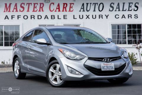 2013 Hyundai Elantra Coupe for sale at Mastercare Auto Sales in San Marcos CA