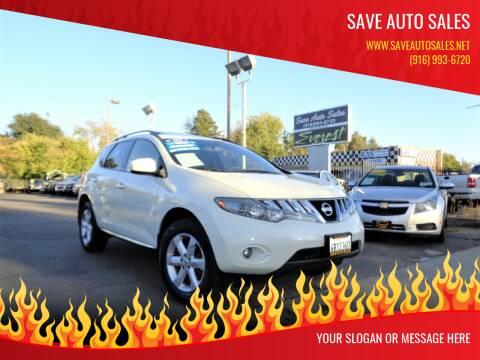 2009 Nissan Murano for sale at Save Auto Sales in Sacramento CA