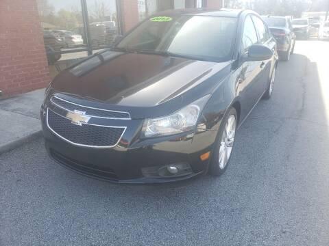 2013 Chevrolet Cruze for sale at Credit Cars LLC in Lawrenceville GA