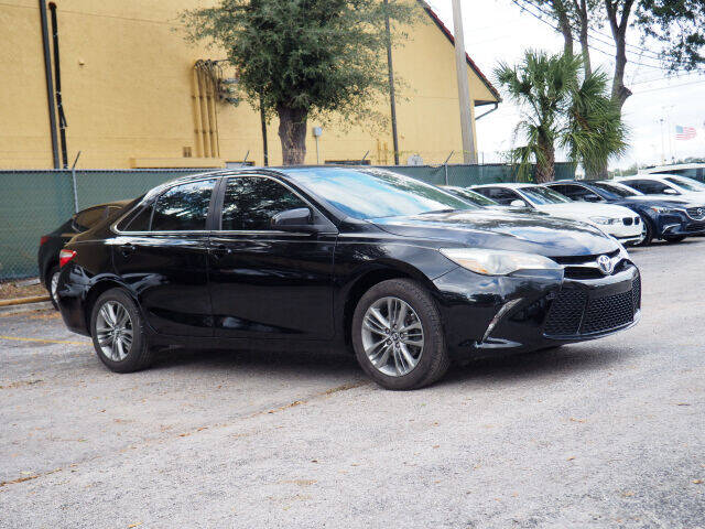2016 Toyota Camry for sale at Winter Park Auto Mall in Orlando FL