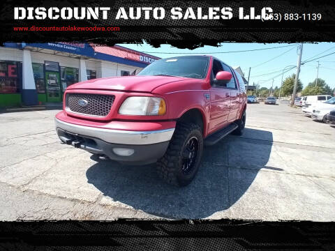 2001 Ford F-150 for sale at DISCOUNT AUTO SALES LLC in Lakewood WA