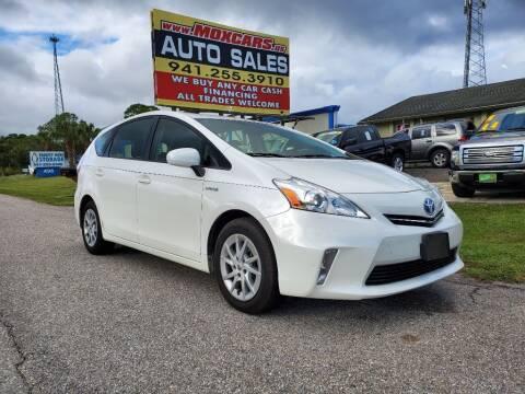 2012 Toyota Prius v for sale at Mox Motors in Port Charlotte FL