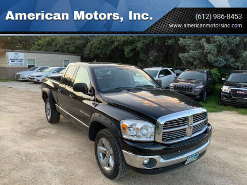 2007 Dodge Ram Pickup 1500 for sale at American Motors, Inc. in Farmington MN