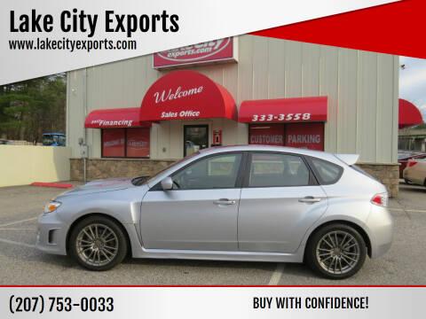 2014 Subaru Impreza for sale at Lake City Exports in Auburn ME