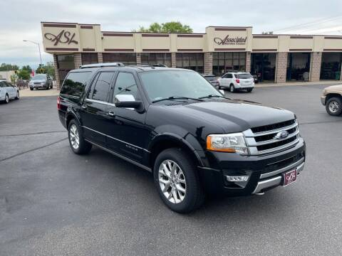 2015 Ford Expedition EL for sale at ASSOCIATED SALES & LEASING in Marshfield WI