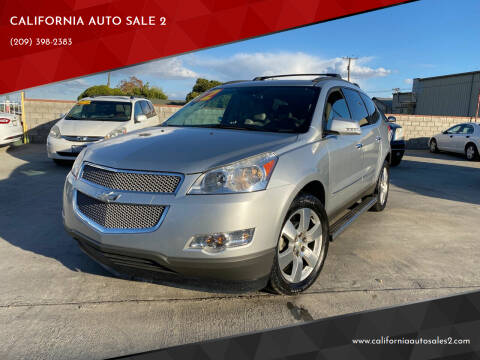 2012 Chevrolet Traverse for sale at CALIFORNIA AUTO SALE 2 in Livingston CA