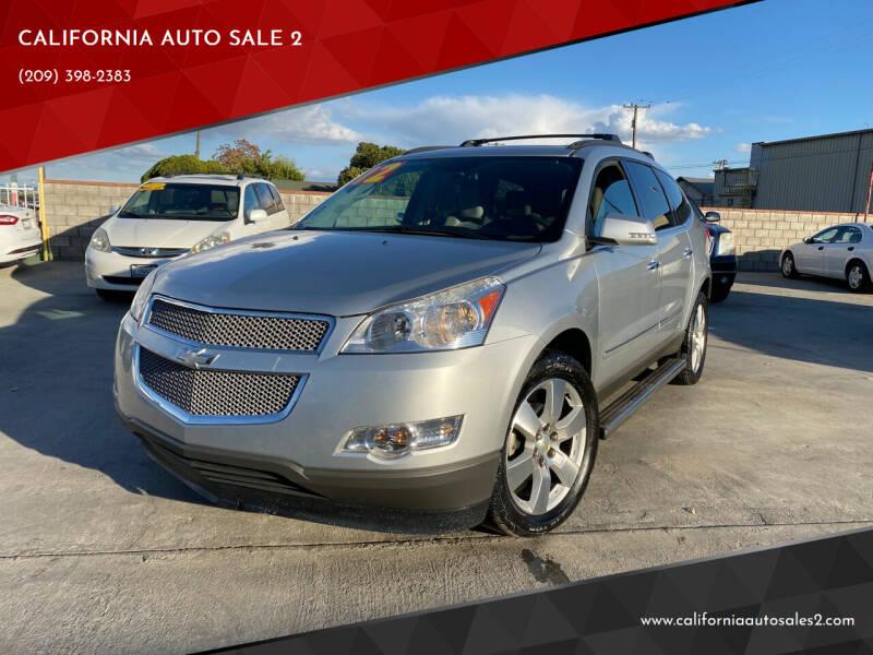 2012 Chevrolet Traverse for sale at CALIFORNIA AUTO SALE 2 in Livingston CA