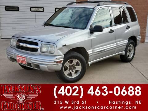 2003 Chevrolet Tracker for sale at Jacksons Car Corner Inc in Hastings NE