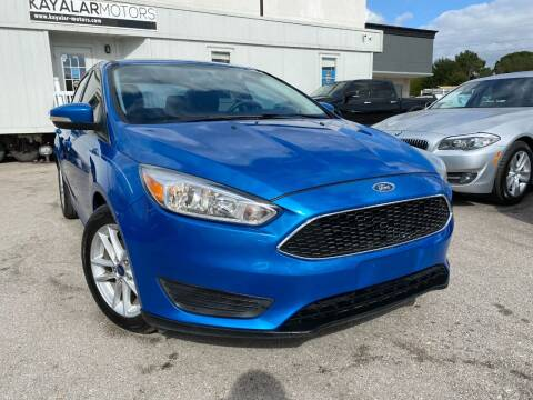 2016 Ford Focus for sale at KAYALAR MOTORS in Houston TX