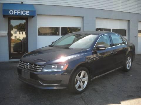 2013 Volkswagen Passat for sale at Best Wheels Imports in Johnston RI