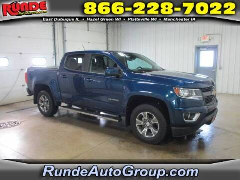 2019 Chevrolet Colorado for sale at Runde Chevrolet in East Dubuque IL