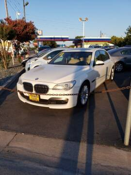 2013 BMW 7 Series for sale at Thomas Auto Sales in Manteca CA