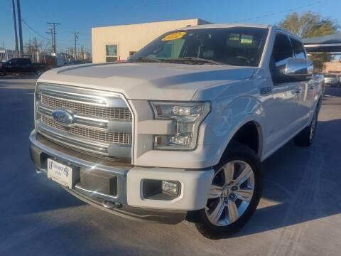 2016 Ford F-150 for sale at Hugo Motors INC in El Paso TX