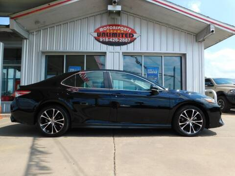 2020 Toyota Camry for sale at Motorsports Unlimited in McAlester OK