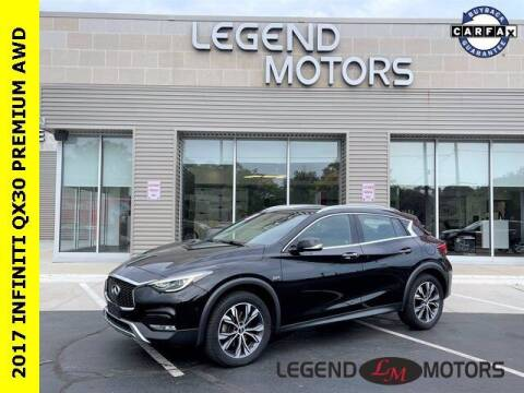 2017 Infiniti QX30 for sale at Legend Motors of Waterford in Waterford MI
