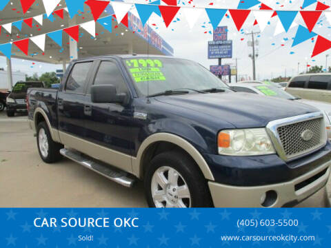 2008 Ford F-150 for sale at CAR SOURCE OKC - CAR ONE in Oklahoma City OK