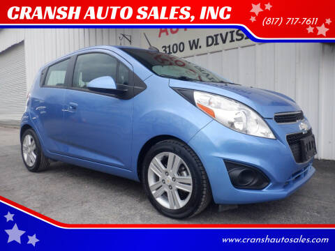 2015 Chevrolet Spark for sale at CRANSH AUTO SALES, INC in Arlington TX