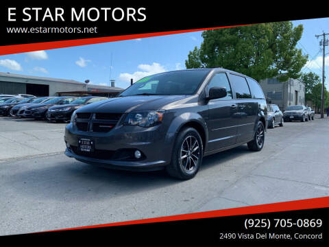 2016 Dodge Grand Caravan for sale at E STAR MOTORS in Concord CA