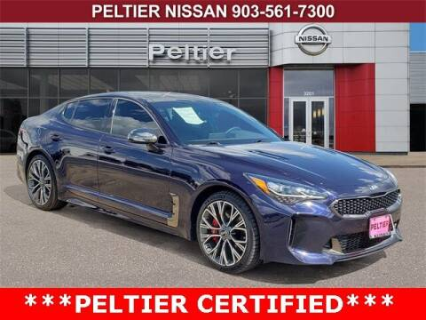 2020 Kia Stinger for sale at TEX TYLER Autos Cars Trucks SUV Sales in Tyler TX