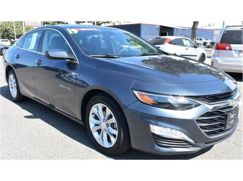 2019 Chevrolet Malibu for sale at ATWATER AUTO WORLD in Atwater CA