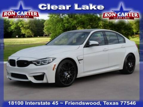 2018 BMW M3 for sale at Ron Carter  Clear Lake Used Cars in Houston TX