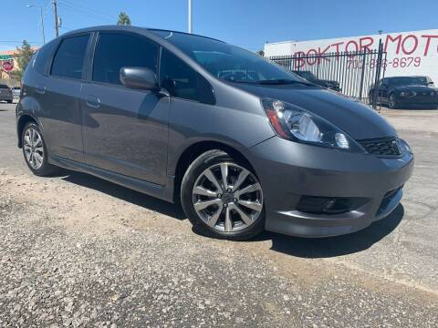 2012 Honda Fit for sale at Boktor Motors in Las Vegas NV