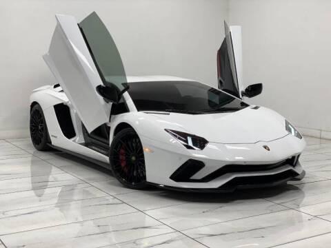 2018 Lamborghini Aventador for sale at HIGH CLASS AUTO SALES in Rancho Cordova CA