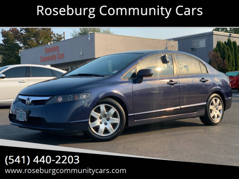 2006 Honda Civic LX 4dr Sedan w/automatic - Roseburg OR