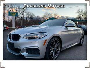 2017 BMW 2 Series for sale at Rockland Automall - Rockland Motors in West Nyack NY