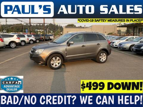 2012 Chevrolet Captiva Sport for sale at Paul's Auto Sales in Eugene OR