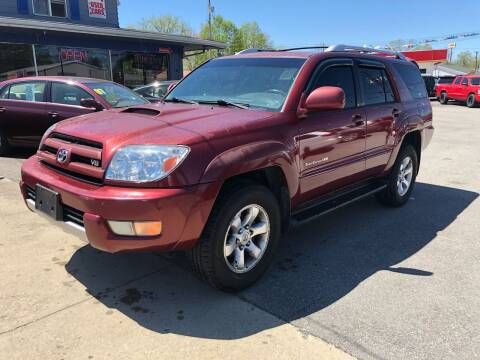 2005 Toyota 4Runner for sale at Wise Investments Auto Sales in Sellersburg IN