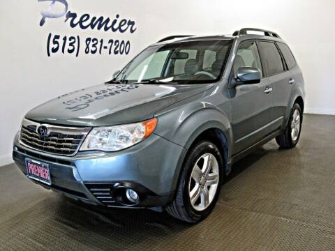 2009 Subaru Forester for sale at Premier Automotive Group in Milford OH
