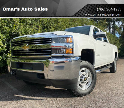 2015 Chevrolet Silverado 2500HD for sale at Omar's Auto Sales in Martinez GA