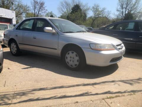 2000 Honda Accord for sale at AFFORDABLE USED CARS in Richmond VA