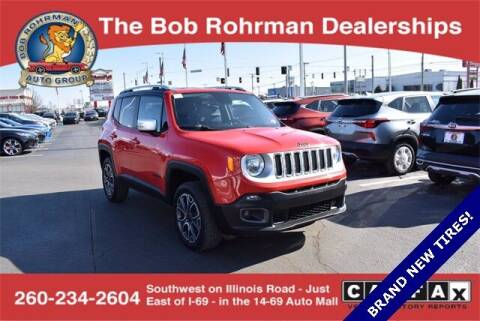 2016 Jeep Renegade for sale at BOB ROHRMAN FORT WAYNE TOYOTA in Fort Wayne IN