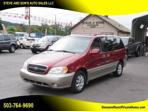 2004 Kia Sedona for sale at Steve & Sons Auto Sales in Happy Valley OR