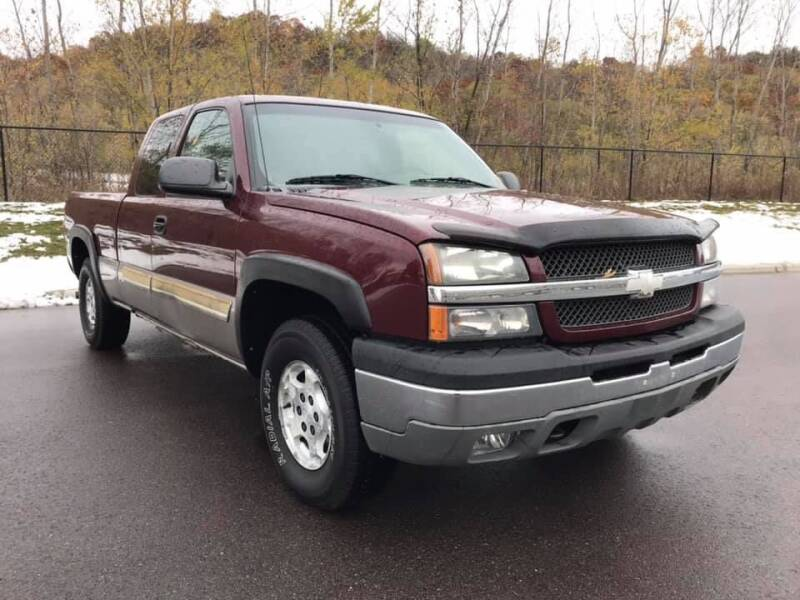 2003 Chevrolet Silverado 1500 for sale at Angies Auto Sales LLC in Newport MN