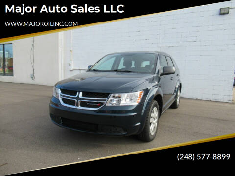 2014 Dodge Journey for sale at Major Auto Sales LLC in Madison Heights MI